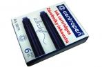 """Баллончики для перьевой ручки """"Centropen"""" синие 06 шт. /в картонной упаковке оптом"""
