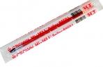 """Стержень гелевый красный Crown """"Hi-Jell"""", 138мм, 0.5 мм оптом"""