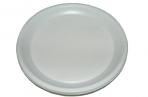 Тарелка одноразовая десертная d=170 мм белая 100шт/уп~~ оптом