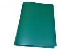 Папка с зажимом inФОРМАТ А4 зеленый пласт карман оптом