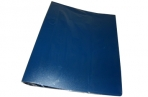 Папка 2 кольца 40мм синий пластик А4 InФОРМАТ оптом