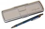 "Ручка футляр автомат ""Signature"" корп мет голуб/хром GIFTФОРМАТ SBP288/LB оптом"