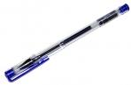 "Ручка гелевая ""Laconic"" синяя 0. 7/129мм корпус прозрачный SILWERHOF 026160-01 оптом"
