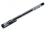 Ручка гелевая черная 0. 5/129мм корпус прозрачный¶ATTOMEX 5051348 оптом
