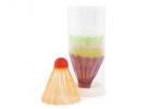 Игровой набор пластиковых воланов в тубе Start Up Р101 (6шт) оптом