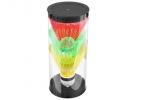 Игровой набор воланов пластик, наконечник пенопласт, в тубе (3 шт) оптом