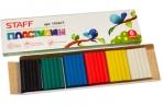 Пластилин классический STAFF 6 цв., 60г, картонная упаковка, 103677 оптом