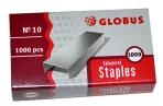 Скобы 10 GLOBUS, 1000 шт., высококачественная сталь оптом