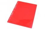 """Папка-вкладыш A4 0. 05 мм гладкая красная (в пакете) """"Herlitz"""" оптом"""