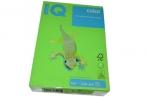 Бумага IQ color А4, 160 г/м, 250 л., интенсив зеленая MA42 ш/к 06480 цена за 1 лист оптом