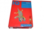 Бумага IQ color А4, 160 г/м, 250 л., интенсив кораллово-красная CO44 ш/к 00976 цена за 1 лист оптом