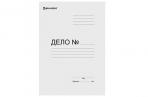 """Папка без скоросшивателя """"Дело"""", картон мелованный, плотность 280 г/м2, до 200 листов, BRAUBERG, 110927 оптом"""