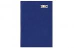 2022 Ежедневник датированный 2022 (145х215мм), А5, STAFF, твердая обложка бумвинил, синий, 113337 оптом