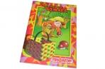 Цветная бумага А4 16л., 8цв., ПИФАГОР, Гномик-грибник, 200х283мм, оптом