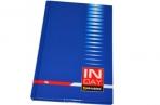 Блокнот А5 96л. обл. ламин., кл., BRAUBERG, Индей синий, 135*206мм оптом