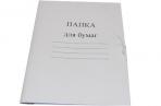 Папка для бумаг с завязками картонная, гарантированная плотность 280 г/м2, до 200 л., 122292 оптом