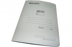 Скоросшиватель карт. BRAUBERG Standard, гарант. пл. 300 г/кв. м., белый, до 200л. ~~ оптом
