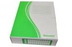 Накопитель документов, Папка с завязками BRAUBERG,  75 мм, 2 х/б завязки, зеленый, до 700л., 124851 оптом