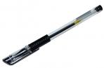 Ручка гелевая, 0. 5 мм, прозрачный корпус, чёрный стержень оптом