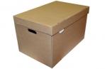 """Короб архивный """"Делопроизводство"""" (в29, 5*ш48*г32, 5, см), откидная крышка, картон, бурый оптом"""