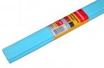 Бумага крепированная ПЛОТНАЯ, растяжение до 45%, 32г/м, BRAUBERG, рулон, голуб, 50х250см, 126534 оптом