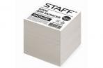 Блок для записей STAFF непроклеенный, куб 9*9*9 см, белый, белизна 70-80%, 126575 оптом
