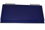 Планинг настольный STAFF недат. 285*112мм, 64 л, бумвинил, темно-синий, 127057 оптом