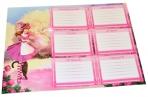 Расписание уроков А4, ПИФАГОР, для девочек, ассорти (4 вида), 127149 оптом