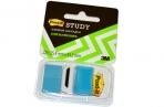 Закладки самоклеящиеся POST-IT Study, пластиковые, 25 мм, 22 шт., синие, 680-BB-LRU оптом