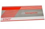 Планинг настольный недатированный ОФИС СЕРЫЙ, 285*112мм, 64л, обложка на спирали, STAFF, 127826 оптом
