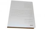 Скоросшиватель из микрогофрокартона, 30 мм, белый, до 300 листов STAFF оптом
