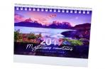 2019 Календарь-домик HATBER, на гребне, 160х105мм, горизон., Горы, 12КД6гр_16840 (K281536) оптом