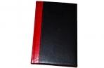 2020 Ежедневник датированный 2020 А5, BRAUBERG Prestige, комбинированный, красный/черный, 138*213мм оптом