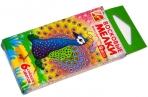 """Восковые мелки 6цв, шестигранные, ЛУЧ """"Zoo"""", картонная упаковка с европодвесом, оптом"""