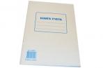 Книга учета 72л, А4 202*258мм, STAFF клетка, картон, блок офсет, 130057 оптом