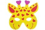 Карнавальная маска «Жираф» оптом