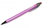 Ручка шариковая автомат. BRAUBERG Sakura, корпус ассорти, узел 0.5 мм, линия 0, 3мм, синяя, 141287 оптом