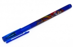 Ручка шариковая BRAUBERG Корсары, корпус с печатью, узел 0, 7мм, линия 0, 35мм, синяя, 141538 оптом