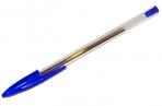 Ручка шариковая STAFF, корпус прозрачный, узел 1мм, линия письма 0.5 мм, синяя, 141672 оптом