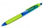 Ручка шариковая масляная автомат. STABILO Performer+, зелен. детали, 0.5 мм, линия 0, 3мм, син, 328/3-41 оптом