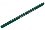 Ручка капиллярная BRAUBERG Aero, ТЕМНО-ЗЕЛЕНАЯ, трехгранная, металлический наконечник, 0.4 мм, 142251 оптом
