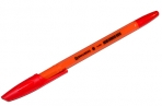 Ручка шариковая BRAUBERG X-333 Orange, КРАСНАЯ, корпус оранжевый, узел 0, 7мм, линия 0, 35мм, 142412 оптом