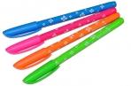 Ручка шариковая масляная BRAUBERG FRUITY SF, с узором, узел 1мм, линия 0.5 мм, синяя, OBP125 оптом