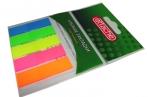 Клейкие закладки пласт. 5цв. по 20л. 12ммх45 Attache030951023 оптом