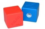 """Точилка пластиковая Milan """"Cubic"""", 1 отверстие, контейнер оптом"""