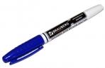 Маркер для доски BRAUBERG с клипом, эргономичный корпус, круглый наконечник 4 мм, синий, 150847 оптом