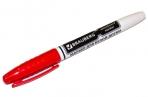 Маркер для доски BRAUBERG с клипом, эргономичный корпус, круглый наконечник 4 мм, красный, 150848 оптом
