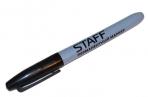 Маркер перманентный (нестираемый) STAFF, эргономичный корпус, круглый након. 2мм, черный, 151233 оптом