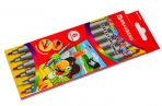 Фломастеры двухсторонние BRAUBERG 6 цветов, пишущие узлы 2 и 5 мм, вент. колп., карт. упак., 151408 оптом