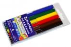 """Фломастеры BRAUBERG """"АКАДЕМИЯ"""" 6 цветов, вентилируемый колпачок, ПВХ упаковка, 151409 оптом"""